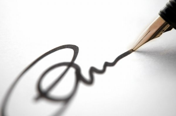 how to make a signature